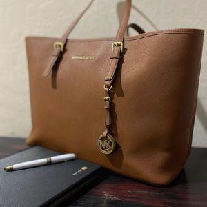 MICHAEL KORS Laptop Bag/Commuter Tote, camel color